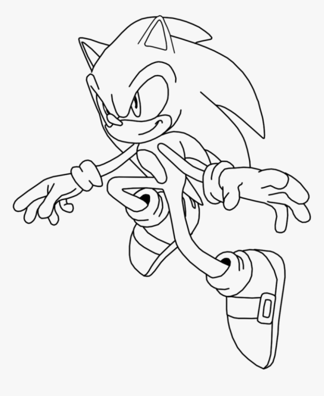 Free Coloring Pages Of Super Sonic Emeralds - Sonic Desenho Para