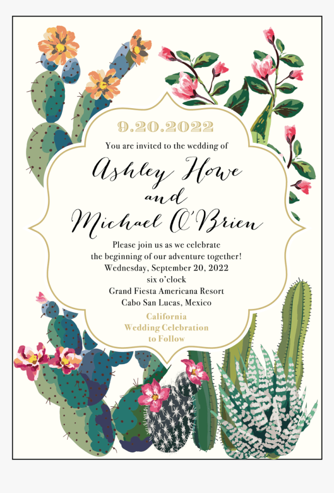 Destination Wedding Invitation Wording