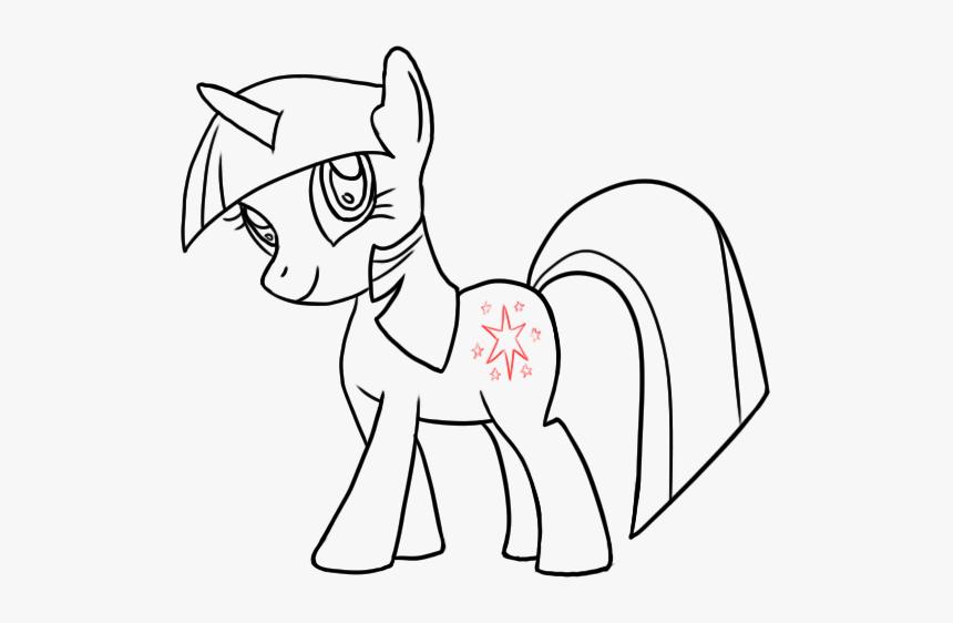 Drawn My Little Pony Twilight Sparkle My Little Pony Drawing Twilight Sparkle Hd Png Download Kindpng