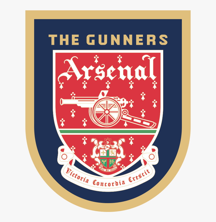 logo arsenal 1994 95 hd png download