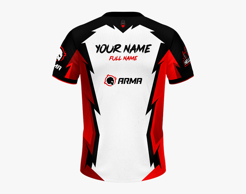 Jersey gaming esport coc clash of clan team mockup maillot. Hellzarmy Pro Jersey Jersey Hellzgates Arma Custom Esports Jersey Hd Png Download Kindpng