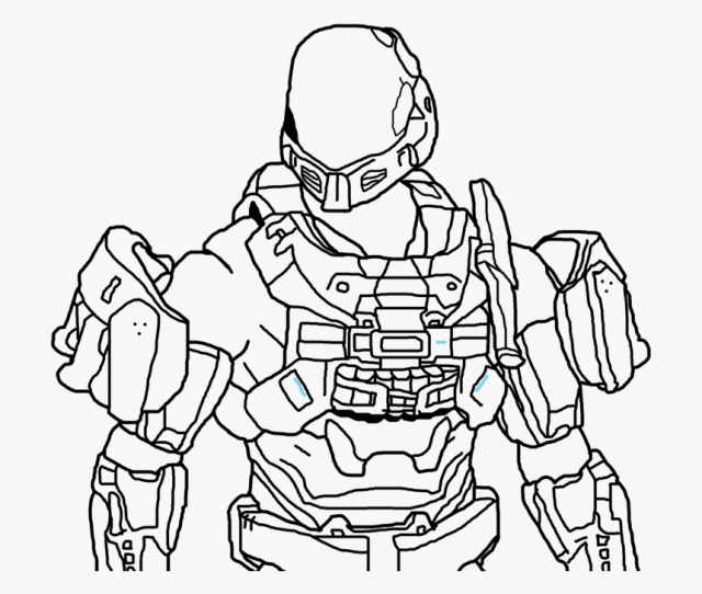 Download And Print These Halo Odst Coloring Pages For Halo