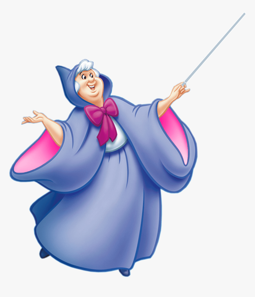 Cinderella Fairy Godmother The Walt Disney Company Cinderella Fairy Godmother Clipart Hd Png Download Kindpng