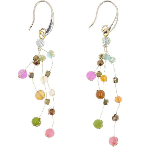 Float Earrings – Rainbow