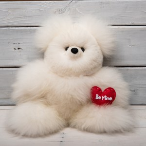MEDIUM TEDDY BEAR ALPACA FUR