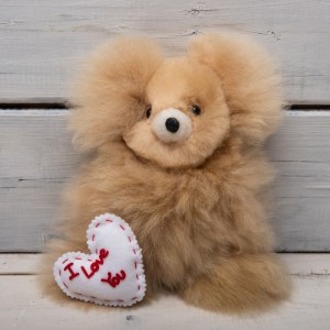SMALL TEDDY BEAR ALPACA FUR