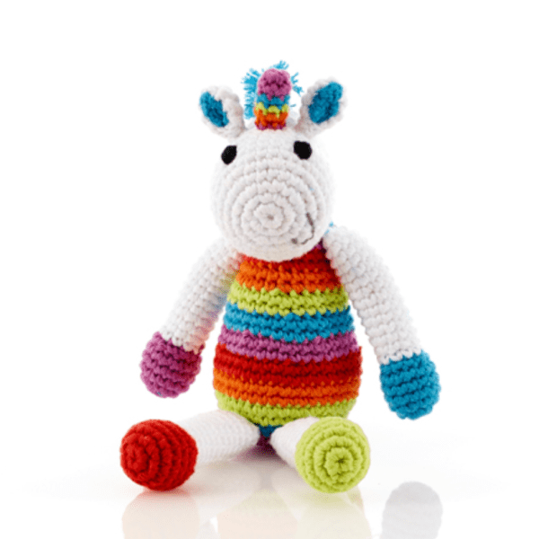RATTLE UNICORN RAINBOW