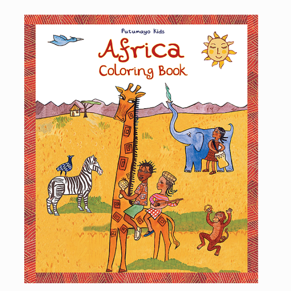 BOOK COLORING AFRICA
