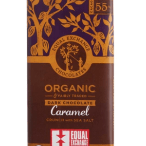 DARK CHOCOLATE BAR – CARAMEL CRUNCH