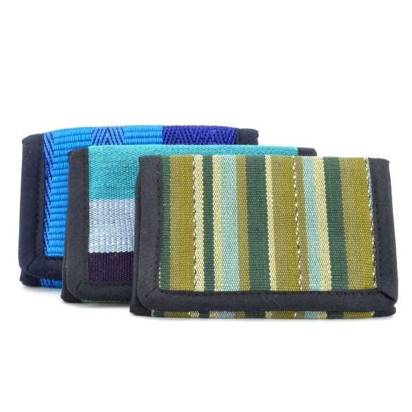 Colorful Woven Wallet