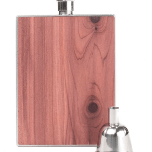 3oz WOOD FLASK PLAIN