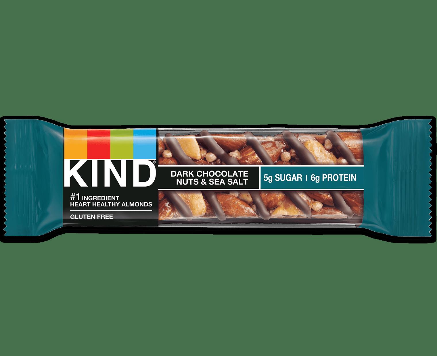 Dark Chocolate Nuts amp Sea Salt Bars Mixed Nut Bars