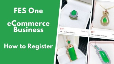 How to Register in FES one E-commerce