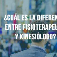 ¿Cuál es la diferencia entre Kinesiología y Fisioterapia?
