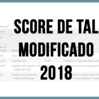 Score de Tal modificado 2018