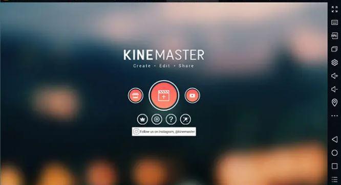 KineMaster Pro on PC Windows 7/8/10