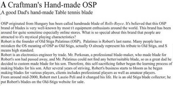 OSP_History