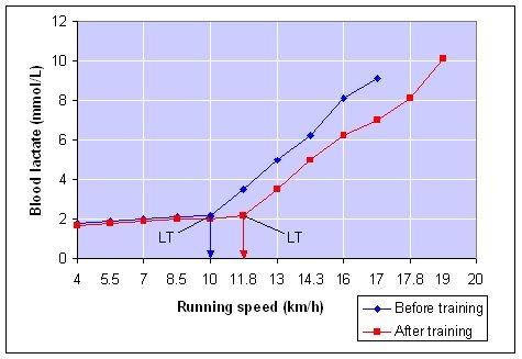 lactate threshold graph