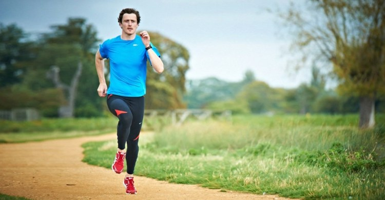 How to perform running strides