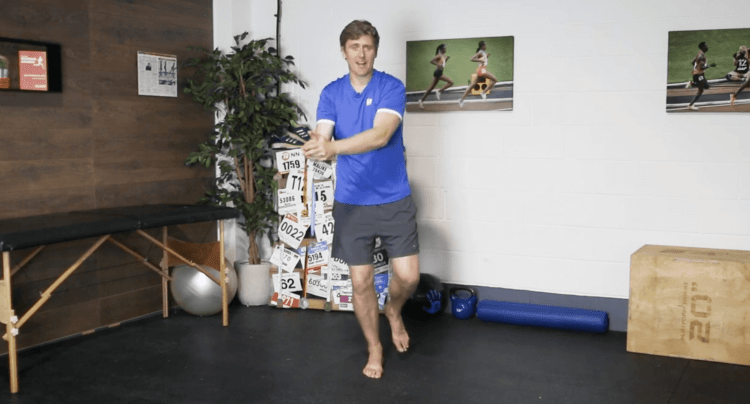A-to-Z Balance Drill for Ankle Stability
