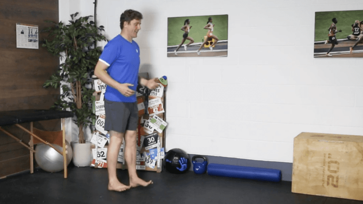 Heel Walk Drill for Ankle Strengthening