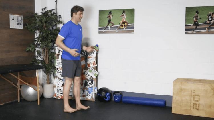 Heel Walk Drill for Ankle Strengthening