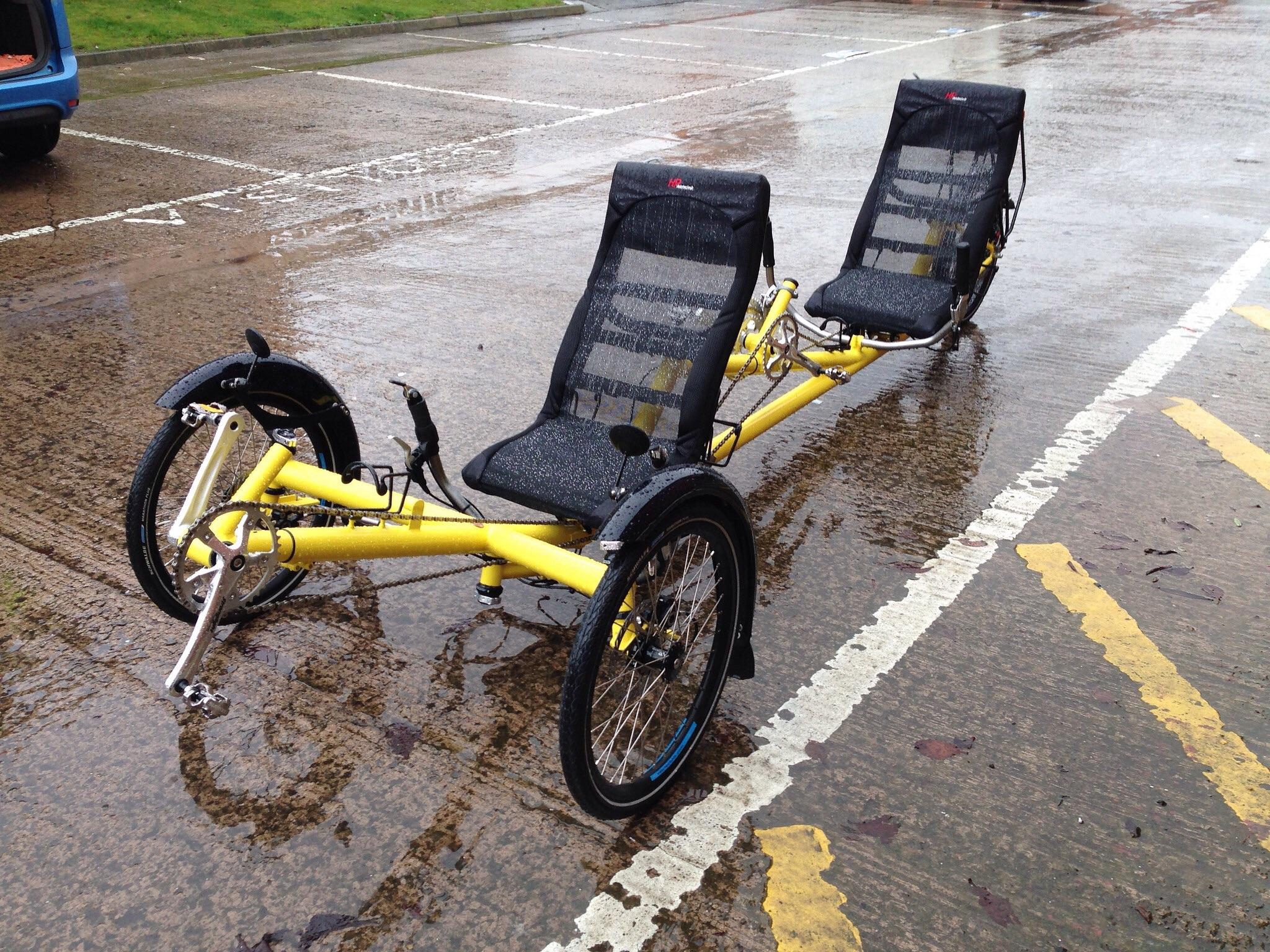 Tricycle Kinetics