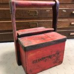 Gunpowder carrying box from Nobel's Explosives, Ardeer.