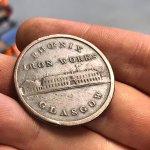 Phoenix Iron Works One Penny token, 1813.
