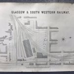 Map of GSWR junction, Glasgow