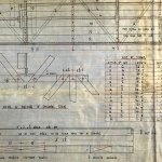 Plan of a 60-ton travelling crane, maker unknown.