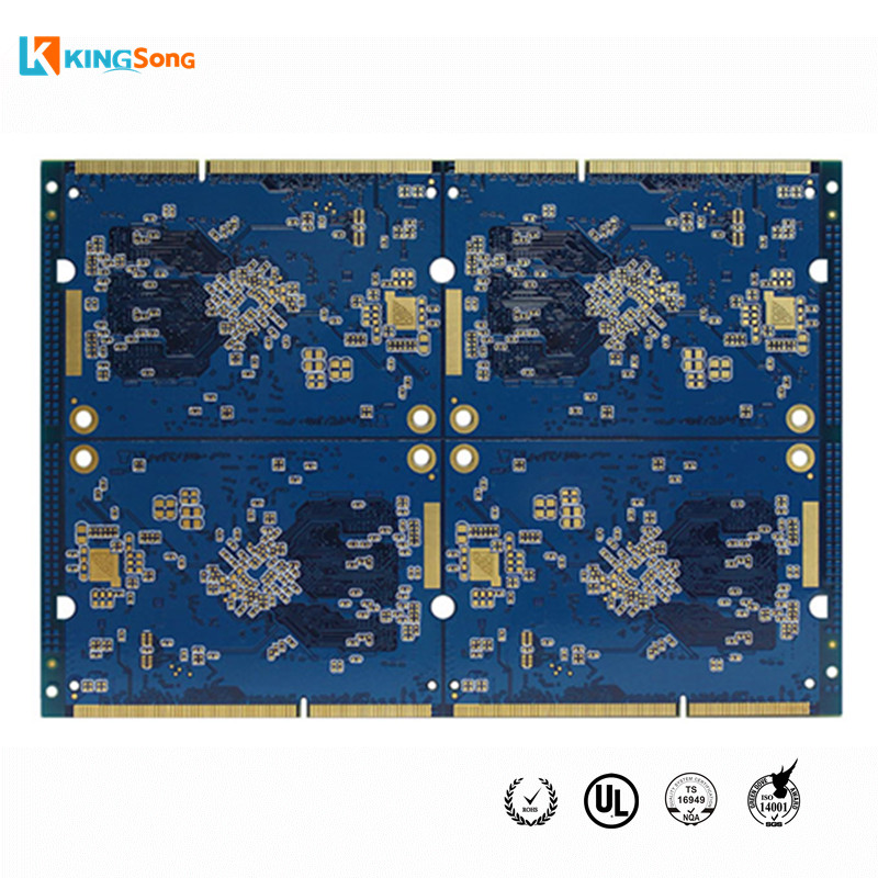 Smt 4 Layer Fr4 Pcb Circuit Boards Design Assembly Of Hdi Pcb