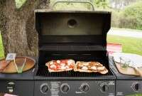 Grilled Pizza via @kingarthurflour