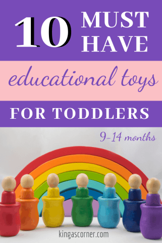 I don't know about you, but I am constantly searching for educational toys for toddlers. I prefer educational toys that can really teach him something rather than just simple, cheap toys. Kids learn through play, so the toys you provide are super important for them. 10 Must have Educational Toys for toddlers