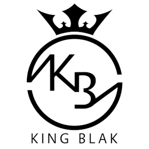 King Blak logo black