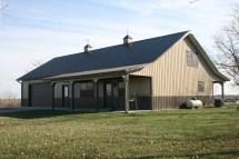 Pole Barn Metal Building Homes