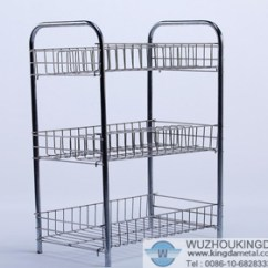 Metal Kitchen Rack How Much To Remodel Stainless Steel Factory