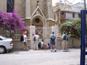 Prayer walking...and some prayer sitting