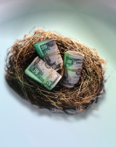 Retirement calls for us to start dipping into our nest eggs
