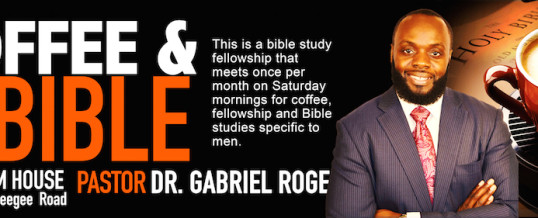 Men's Coffee and the Bible