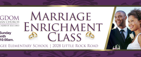 Marriage Enrichment Class