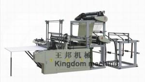Double Lines Plastic Bag making Machine