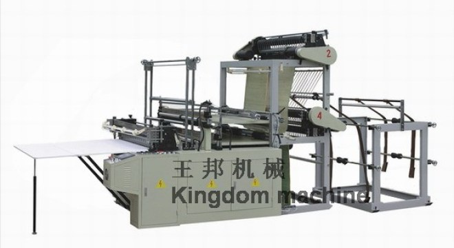 Double Lines Plastic Bag making Machine