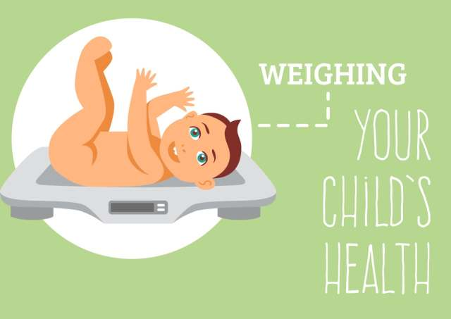 The baby's health at 18 months