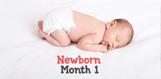 Baby Month By Month : New Born