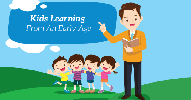 Kids Learning From An Early Age Cover