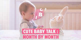 cute baby talk month by month cover