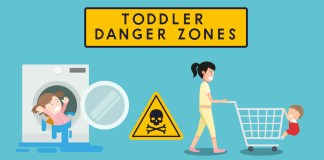 Toddler Danger Zones :What To Avoid For Your Children safety