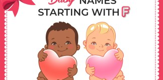 36 Fabulous Baby Names Starting With F