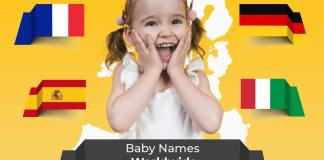 Beautiful And The Famous Baby Names Worldwide